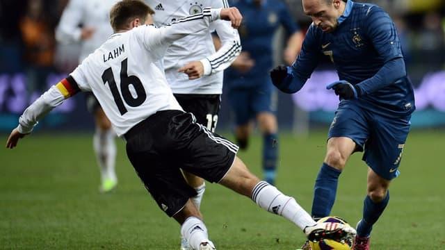 Philipp Lahm et Franck Ribéry