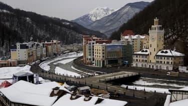 La station de ski de Rosa Khutor a été créée à partir de rien pour les JO de Sotchi, en moins de sept ans.