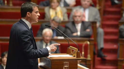 Manuel Valls a fait voter son plan d'économies à l'Assemblée le 29 avril 2014, au terme de semaines de débats.
