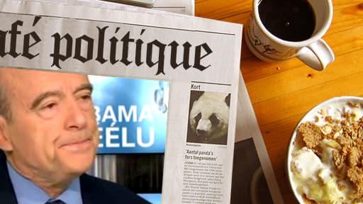 """""""Je n'ai pas été très heureux de voir s'additionner les mentions de chocolatine, racisme anti-blanc et l'appel à manifester"""", a expliqué Alain Juppé."""