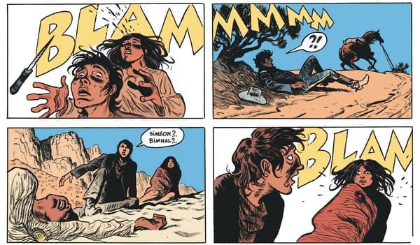 Amertume Apache par Joann Sfar et Christophe Blain