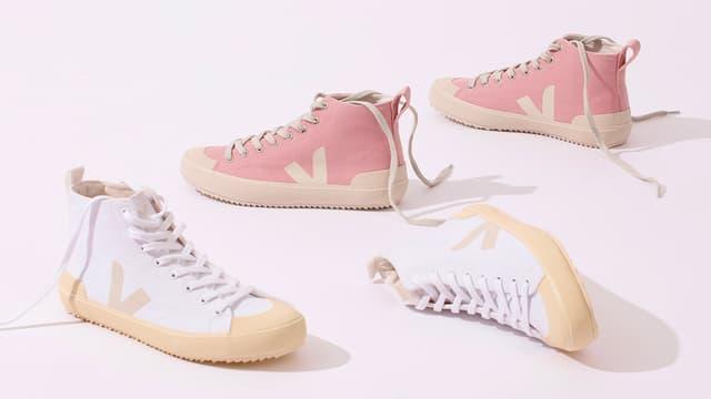 Des chaussures de la marque Veja