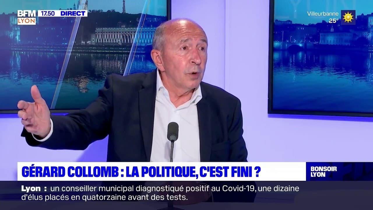 """Lyon: Gérard Collomb annonce qu'il siégera dans l'opposition """"pendant un certain temps"""""""