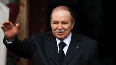 Abdelaziz Bouteflika en janvier dernier