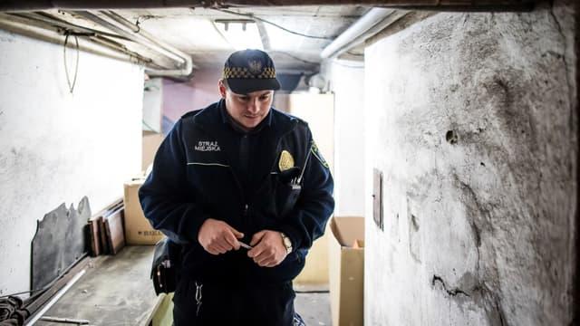 Un officier de la police polonaise (photo d'illustration)