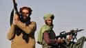Des talibans à Kandahar le 1er septembre 2021 après leur prise de contrôle militaire du pays.
