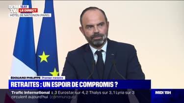 """Édouard Philippe sur la grève des transports: """"Étant avec le chef du gouvernement marocain, il m'est difficile de répondre à des sujets qui n'ont aucun rapport"""""""