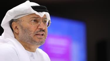 Le ministre d'Etat émirati aux Affaires étrangères Anwar Gargash.