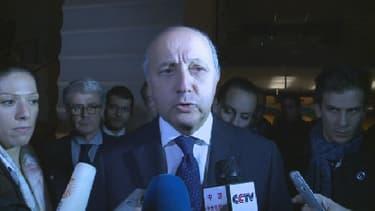 Laurent Fabius, le ministre des Affaires étrangères, a annoncé le blocage par la France, des négociations à Genève pour le programme nucléaire iranien
