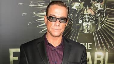 """Jean-Claude Van Damme à la première de """"The Expendables 2"""" à Hollywood en 2012"""