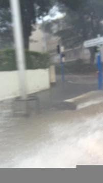 Grosse inondation à Montpellier - Témoins BFMTV