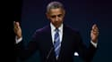 Barack Obama a donné une conférence à Paris samedi 2 décembre 2017.