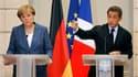 Les propositions avancées mardi par Angela Merkel et Nicolas Sarkozy pour améliorer la gouvernance de la zone euro, menacée par la crise de la dette, ont suscité des réactions prudentes dans les pays détenteur de la monnaie unique. /Photo prise le 16 août