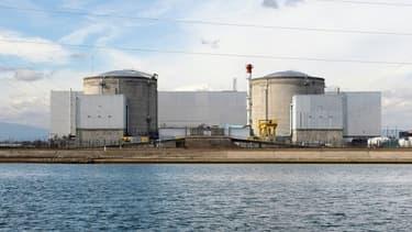 Illustration de la centrale de Fessenheim