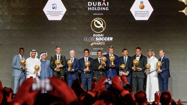 Les vainqueurs des Soccer Globe Awards 2018