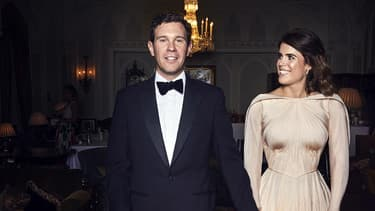 La princesse Eugenie et son époux Jack.