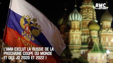 Dopage : la Russie exclue de la prochaine Coupe du monde et des JO 2020 et 2022