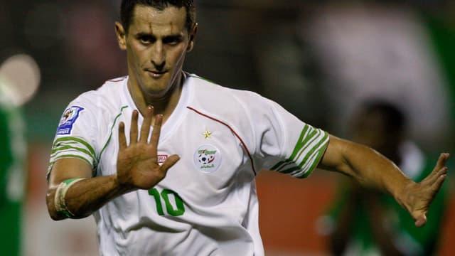 L'attaquant d'Istres (L2) fait partie des 23 joueurs de la sélection algérienne.