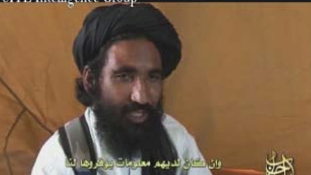 Image tirée d'une des rares vidéos montrant le mollah Mansour.