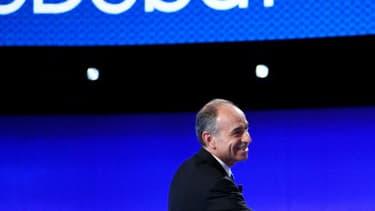 Photo prise sur le plateau du premier des trois débats télévisés de la primaire de la droite et du centre.