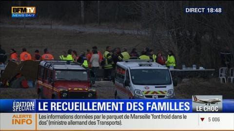"""Édition spéciale """"Crash de l'A320"""" (3/3): Pour les familles des victimes, l'heure est au recueillement"""