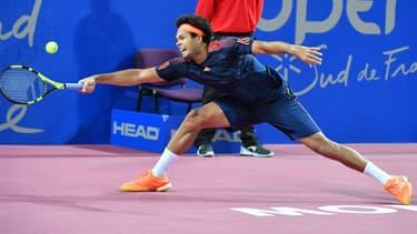 Jo-Wilfried Tsonga à l'Open Sud de France