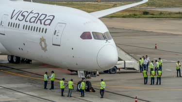 Un Boeing de la compagnie Vistara. (photo d'illustration)