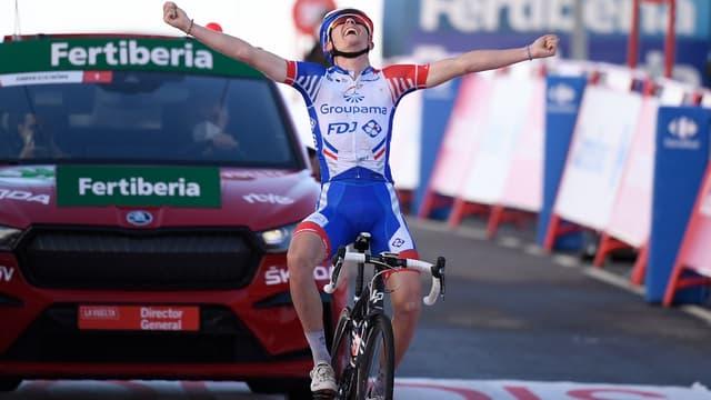 David Gaudu est entré dans une nouvelle dimension sur la Vuelta 2020
