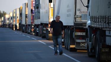 Le mouvement des camionneurs prend des formes très diverses, de l'opération escargot aux manifestations sans préavis.