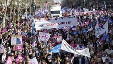 """""""La Manif pour tous"""" du 21 avril 2013"""