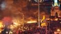 La place Maïdan de Kiev, mardi 18 février au soir.