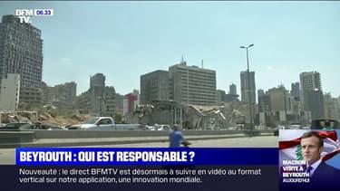 Explosions à Beyrouth: les Libanais cherchent des responsables