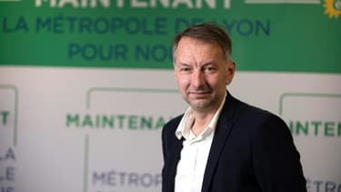 L'écologiste Bruno Bernard, candidat aux municipales de Lyon, le 24 janvier 2020