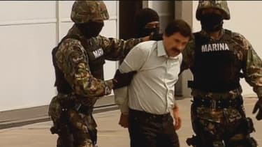 L'arrestation du baron de la drogue El Chapo le 22 février dernier au Mexique