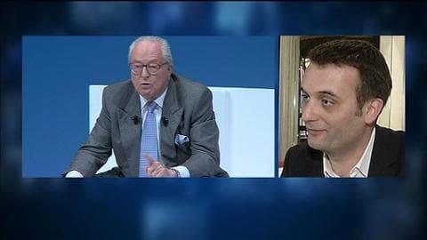 """L'annulation de la suspension de Jean-Marie Le Pen """"ne change pas grand-chose"""" pour Florian Philippot"""