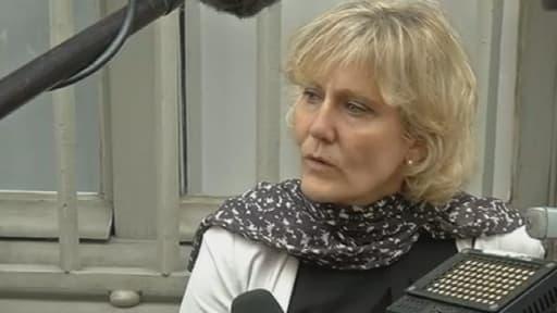 L'ex-ministre de Nicolas Sarkozy Nadine Morano (UMP), mardi, sur BFMTV