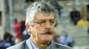 L'entraîneur de football Didier Notheaux, à Valence le 20 janvier 2001