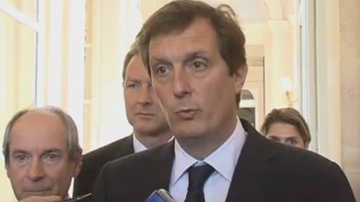 Jérôme Chartier a rejeté l'ultimatum de Jean-François Copé mercredi.