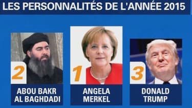 Angela Merkel, personnalité de l'année selon le magazine Time.