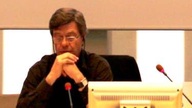Jo Spiegel lors d'une conférence à Valence le 18 octobre.