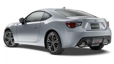 La Scion FR-S, jumelle de la GT-86, continuera d'être vendue en Amérique du Nord, mais avec un logo Toyota.