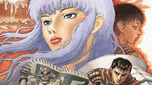 """Détail de la couverture du tome 5 de """"Berserk"""" de Kentaro Miura"""