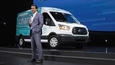 Mark Fields a été nommé PDG de Ford en 2014. (image d'illustration)