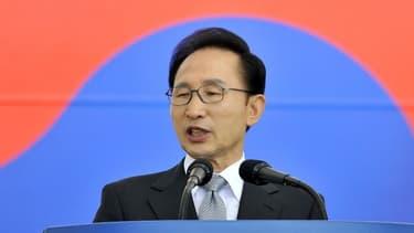 L'ancien président sud-coréen, Lee Myung-bak.
