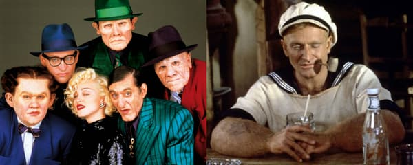 Dick Tracy et Popeye