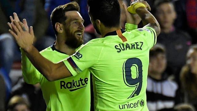 Messi et Suarez