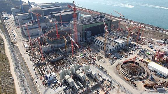 Le chantier de l'EPR à Flamanville (EDF)