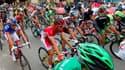 Le peloton de la Vuelta lors de l'édition 2015