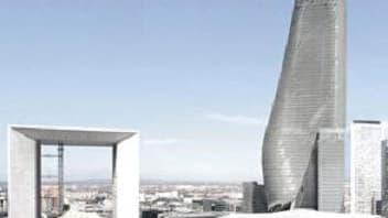 La tour Phare, en projet à La Défense