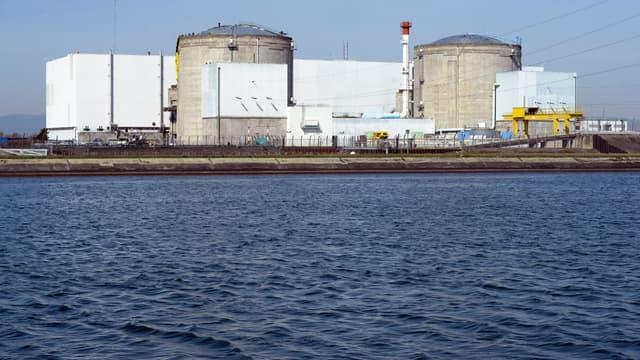 La centrale de Fessenheim, le 18 mars 2014